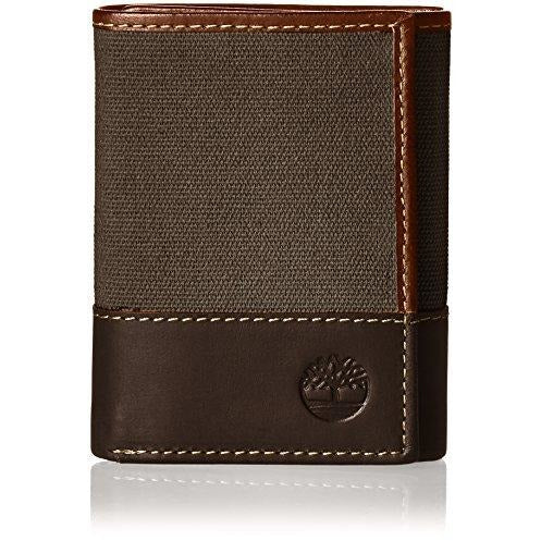 684309065d78b Timberland Men s Canvas   Leather Trifold Wallet – Rafaelos