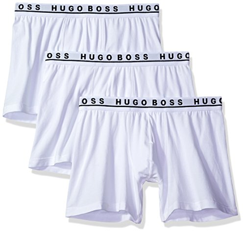 Hugo Boss Boss Men's Cotton Stretch Boxer Brief Pack of 3 (50325404)