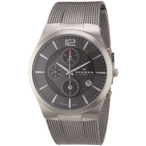 Skagen Men's 906XLTTM Titanium Titanium Chronograph Watch