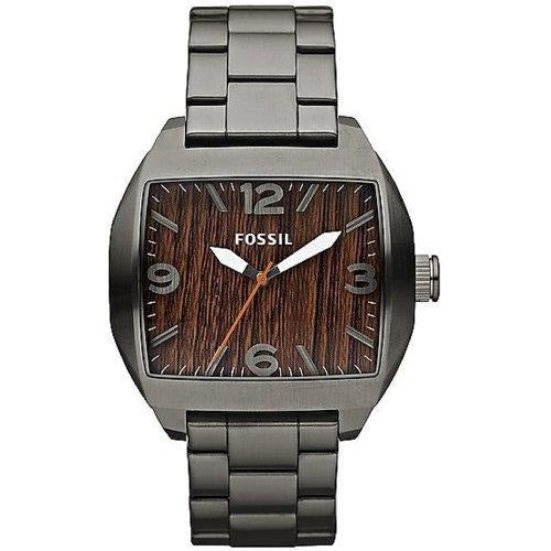 Fossil Roland Three Hand Stainless Steel Watch Smoke JR1361