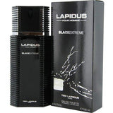 Lapidus Pour Homme Black Extreme Eau de Toilette Spray for Men, 3.3 oz 100 ml.