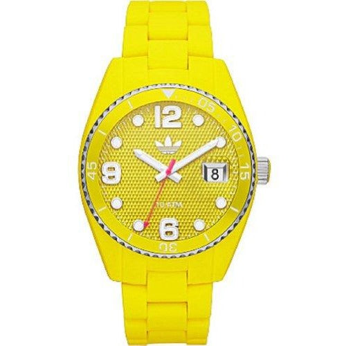 Adidas Brisbane Yellow SIL BRC Watch (ADH6179)