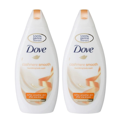 "Dove Body Wash Cashmere smooth  750 ml ""2-PACK"" (Huge Size)"