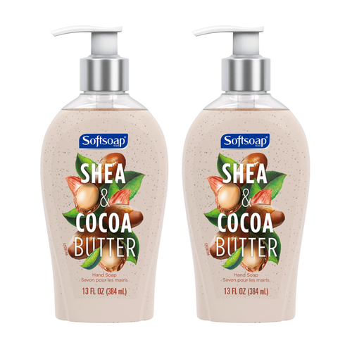 "Softsoap Shea & Cocoa Butter Hand Soap 13 oz 384 ml ""2-PACK"""