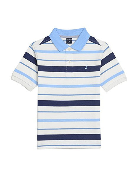 2f5cbe36421dd1 Nautica Boys' Short Sleeve Mini Stripe Polo – Rafaelos