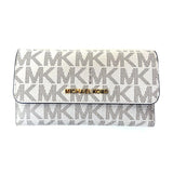 Michael Kors Jet Set Travel Large Trifold Leather Wallet (35S8GTVF3B)