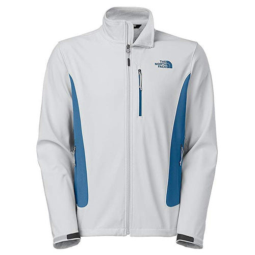 The North Face Men's Shellrock Jacket High Rise Grey / Dish Blue LARGE
