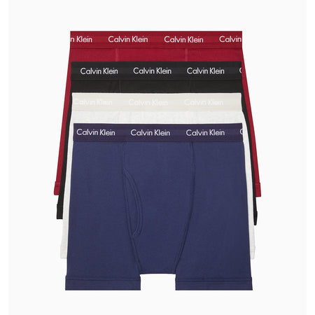 Calvin Klein Underwear Cotton Classics 4-Pack Boxer Briefs (NB1175-979)