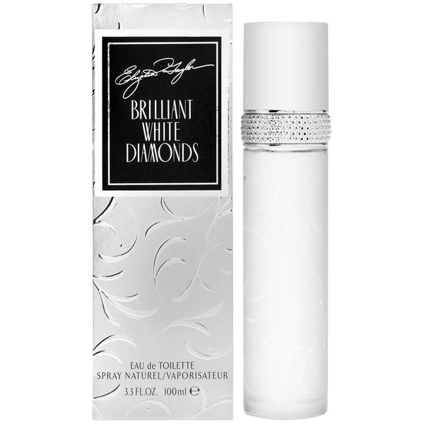 Elizabeth Taylor Brilliant White Diamonds Eau de Toilette Spray, 3.4 oz