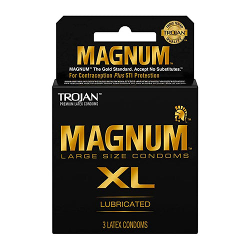 "Trojan Magnum XL Lubricated ""6-PACK"""