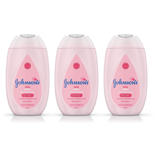 Johnson's Baby Lotion 10.2 oz 3-Pack