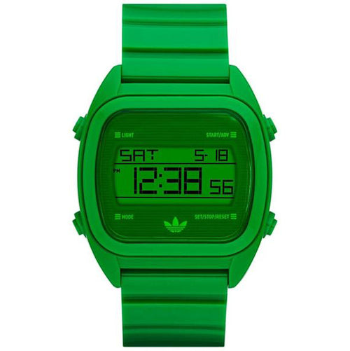 Adidas Unisex Santiago Green Plastic Quartz Watch with Green Dial (ADH2730)