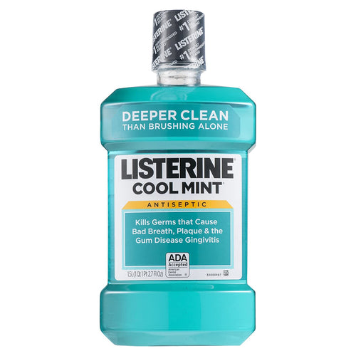 Listerine Antiseptic Mouthwash Cool Mint 1.5 L