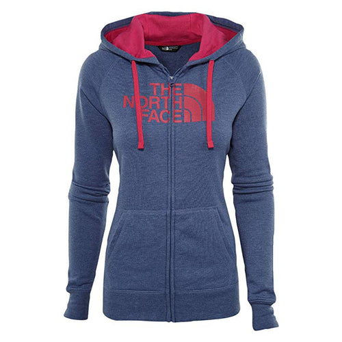 The North Face Women's Half Dome Full Zip Hoodie Fade Blue