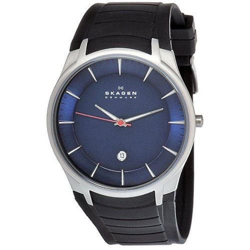 Skagen Men's 955XLSRN Stainless Steel Blue Dial Watch