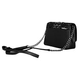 Michael Kors Women's Tina Small Clutch Cross Body Leather Handbag (35S8ST4C5T)
