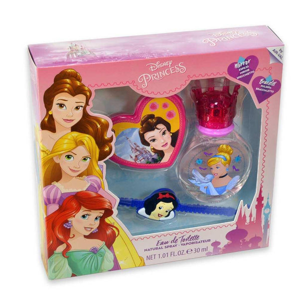 Disney Princess Gift Set 3 pc EDT 1.01 oz 30 ml