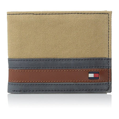 Tommy Hilfiger Men's Exeter Passcase Billfold Wallet with Removable Card Holder (31TL22X050)