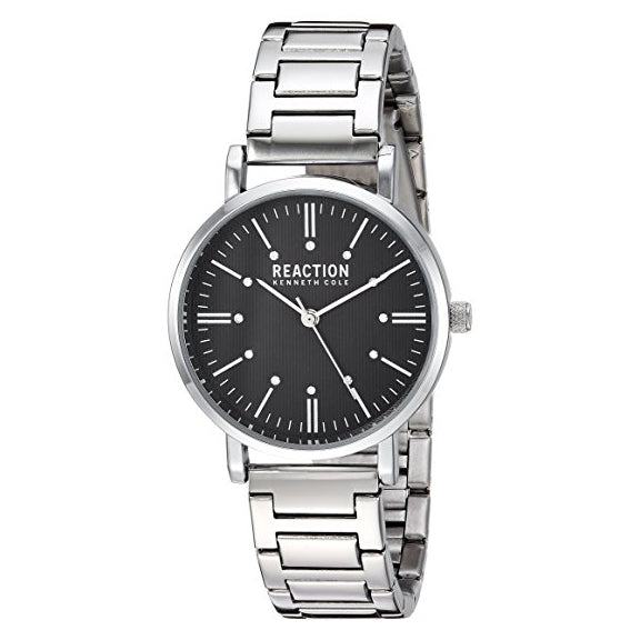 Kenneth Cole Reaction Women's Quartz Metal and Stainless Steel Casual Watch Silver-Toned (RK50104005)