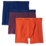 Calvin Klein Cotton Stretch 3 Pack Boxer Briefs (NU2666-693)