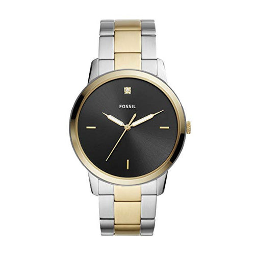 Fossil Men's The Minimalist Three-Hand Two Tone Stainless Steel Watch (FS5458)