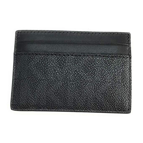 Michael Kors Money Clip Card Case Black