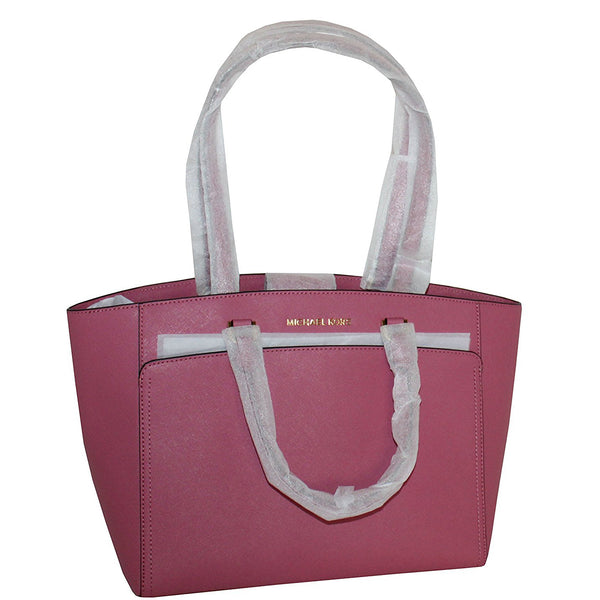 Michael Kors Emmy Large Tote Leather Handbag (35S8GY3T7L)