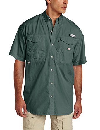 Columbia Men's Bonehead Short-Sleeve Work Shirt