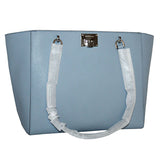 Michael Kors Tina Large Top Zip Handbag Tote Pale Blue (35S8ST4T3L)
