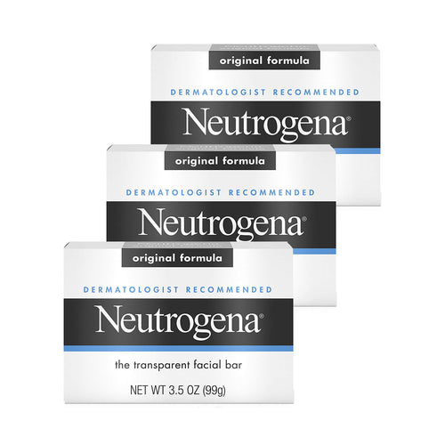 Neutrogena Facial Cleansing Bar 3.5 oz 3-Pack