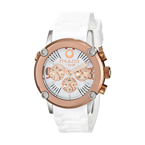 Mulco Women's (MW2-28049-011) White Watch