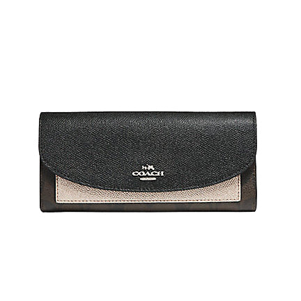 Michael Kors Saffiano Leather Micro Stud Travel Wallet (35F7SD7Z3L)