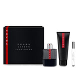 Prada Luna Rossa Carbon 3pc Gift Set EDT 3.4 oz 100 ml Men