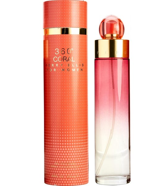 Perry Ellis 360 Coral EDP 3.4 fl oz 100 ml Women