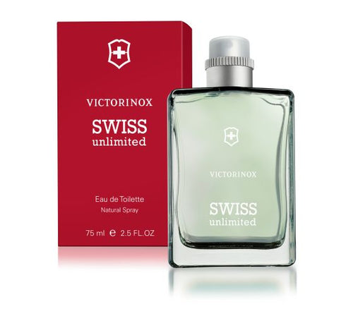 Victorinox Swiss Unlimited EDT 2.5 oz 75 ml
