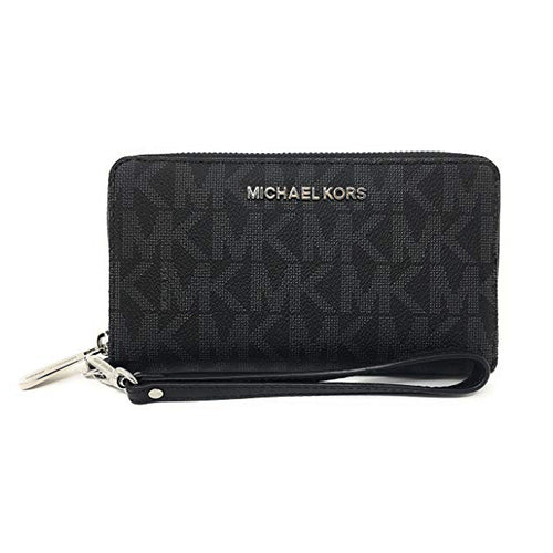 Michael Kors Jet Set Travel Large Flat Multifunction Phone Case Wristlet (35T8STVE3B)