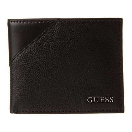 Guess Men's Monterrey Passcase Wallet  Black  (31GU22X003)