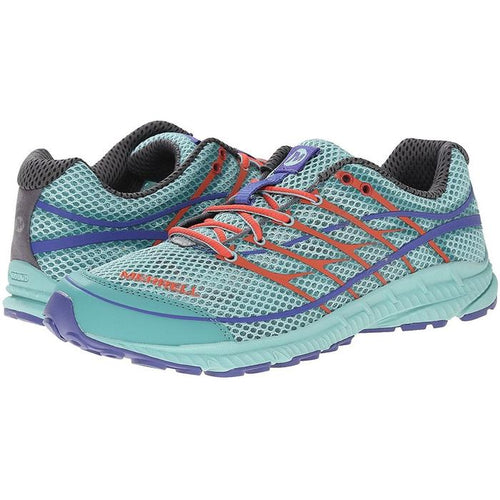 Merrell Mix Master Move Glide 2 Trail Running Shoe Eggshell Blue/Aqua (J32580) Women
