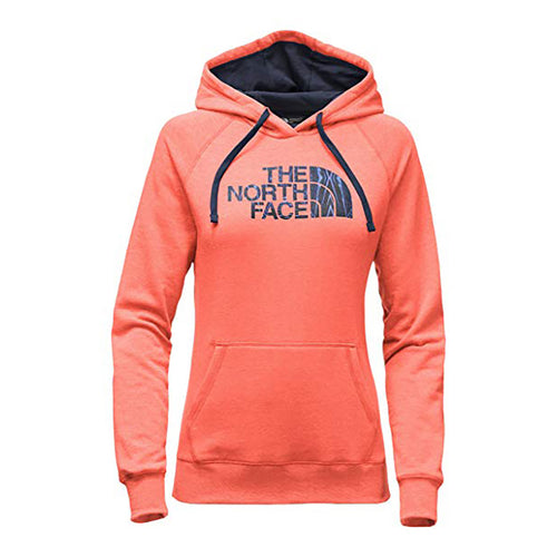 The North Face Motivation Half Dome Hoodie Orange/Cosmic Blue Women