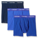 Calvin Klein Men's Cotton Stretch 3 Pack Boxer Briefs (NU2666-163)
