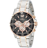Invicta Men's 'Specialty' Quartz Stainless Steel Casual Watch, Color:Two Tone (23667)