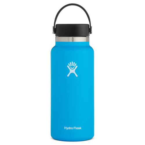 Hydro Flask Wide-Mouth Vacuum Water Bottle, Pacific - 32 fl. oz.