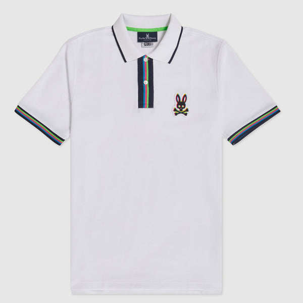 Copy of Psycho Bunny Men's Holloway Polo White