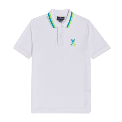 Psycho Bunny Men's Surrey Polo Shirt White