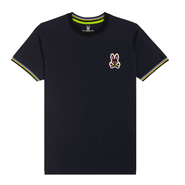 Psycho Bunny Men's Holloway Ringer Tee Navy
