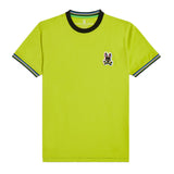 Psycho Bunny Men's Holloway Ringer Tee Safety Yellow