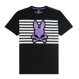 Psycho Bunny Men's Cullman Graphic Tee Black