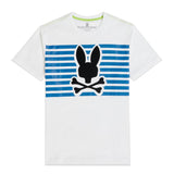 Psycho Bunny Men's Cullman Graphic Tee White