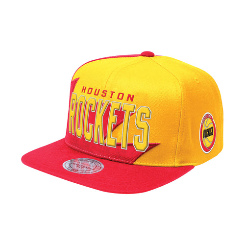 Mitchell & Ness Shark Tooh Snapback Houston Rockets OS (BH78BS)