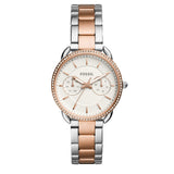 Fossil Women's Tailor Multifunction Two‑Tone Watch (ES4396)